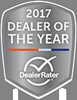 DealerRater 2017 Dealer of the Year